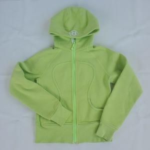 Lululemon Scuba Hoodie Lime Green 4